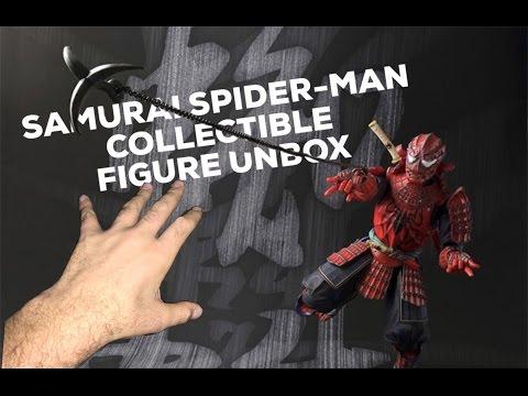 SAMURAI SPIDERMAN 140$ COLLECTIBLE (видео)