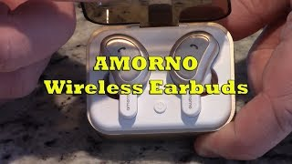 Product Review - Amorno Wireless Earbuds