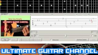 [Guitar Solo Tab] Miss You Finally (Trademark)
