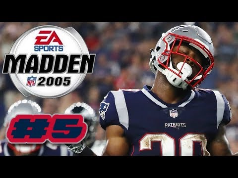 Madden NFL 2005 PS2 2019 New England Patriots Franchise Mode Ep.5 (AFC Divisional Round vs Bengals)