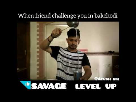 Savage battle |Thug life| Funny vine |Ayush panchwan |