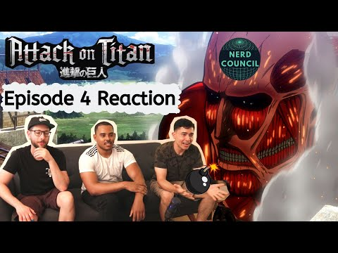 Heroes are made! - Attack On Titan - Season 1 Episode 4 - REACTION