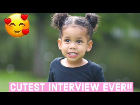 INTERVIEW WITH OUR ONE YEAR OLD | CUTE AND FUNNY