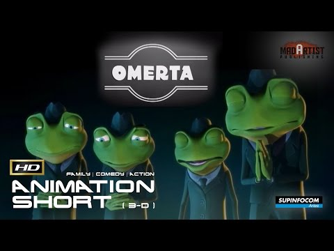 "CGI 3D Animated Short Film ""OMERTA"" Comedy Action Animation by Supinfocom"
