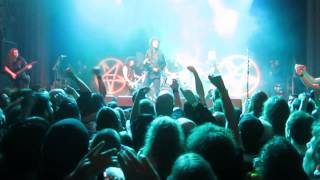 "Anthrax feat. Kirk Hammett (Metallica) - ""T.N.T."" (AC/DC cover) Live in San Francisco 3/28/13. HD"
