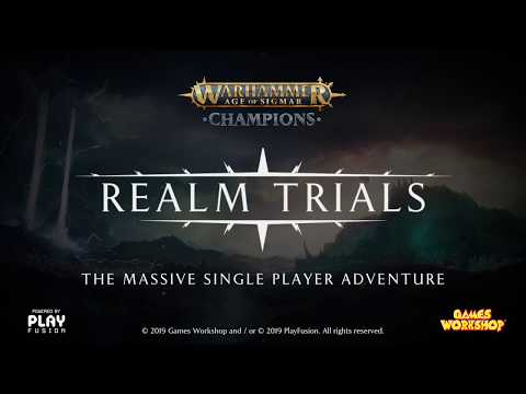 Warhammer Age of Sigmar: Champions - Realm Trials thumbnail