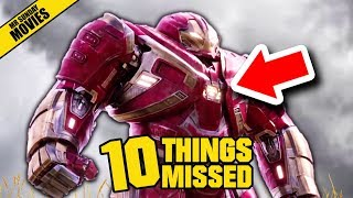 AVENGERS: INFINITY WAR Trailer 2 Breakdown - Things Missed & Easter Eggs