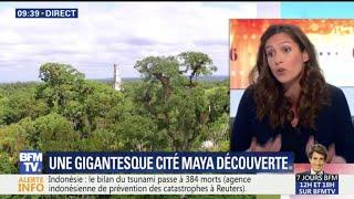 Une gigantesque cité maya découverte au Guatemala