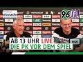 RE-LIVE | PK vor dem Spiel | Hannover 96 - VfL Osnabrück