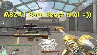 [ Bình luận CF ] Quay báu vật 3z M82A1-Born Beast Noble Gold - Quang Brave
