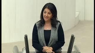 Pervin Buldan'ın 2019 bütçe kanun teklifi üzerine yaptığı konuşma