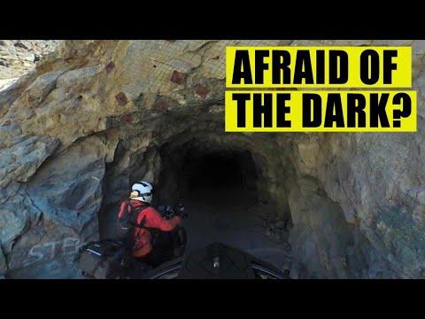 Exploring An Old Abandoned Mine Shaft on Adventure Bikes