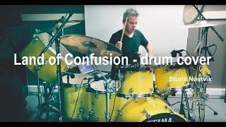 Land Of Confusion   Drum Cover