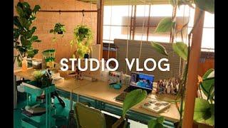 STUDIO VLOG / MOVING TO A NEW ART STUDIO // JACQUELINDELEON