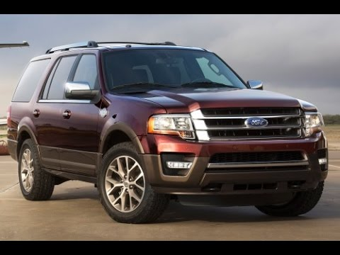 2015 Ford Expedition Start Up and Review 3.5 L Twin Turbo V6