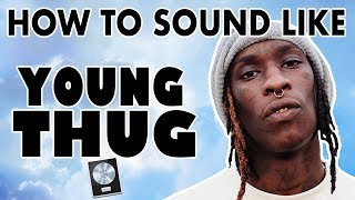 """How to Sound Like YOUNG THUG - """"Check"""" Vocal Tutorial - Logic Pro X"""