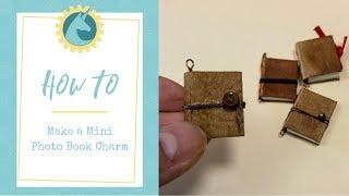DIY Mini Book Necklace