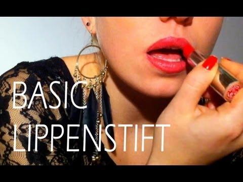 Schmink - Basic : Lippenstift richtig auftragen