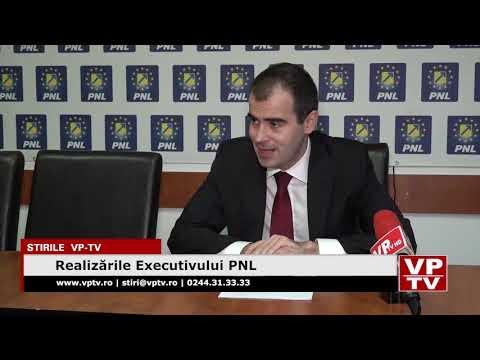 Realizările Executivului PNL