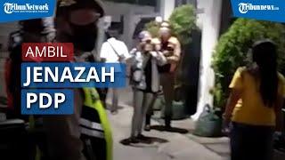 Tak Terima Dimakamkan Standar Covid-19, Kelurga Ambil Paksa Jenazah PDP di Surabaya