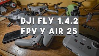 Nuevas funciones en DJI FPV y AIR 2 S y como instalar DJI FLY en Android