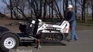 Bobcat Mini Track Loader Safety