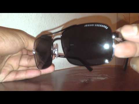 Armani exchange aviator pickup/review.
