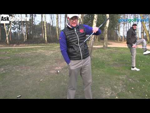 Golf Chipping Root Challenge
