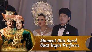 Moment Atta Aurel Memasuki Ballroom Untuk Perform - Ikatan Cinta Atta & Aurel Spesial Syukuran Akad