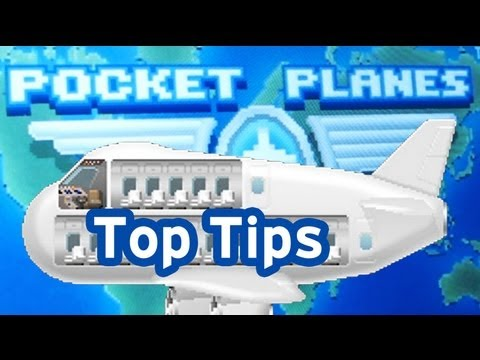 'Pocket Planes' Top 5 Tips To Maximize Your Profits