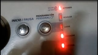 Lavadora NO Enjuaga ni Exprime