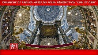 La messe de Pâques et la bénédiction ''Urbi et Orbi''