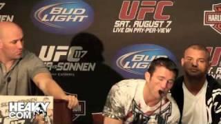 Chael Sonnen UFC 117 Pre-Fight Quotes