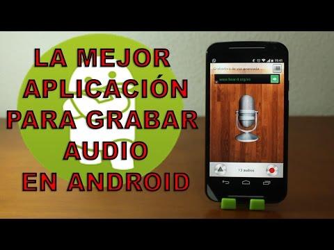 La mejor aplicación para grabar audio en vuestro Moto G: Grabadora de Voz Avanzada [Android]