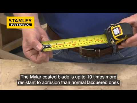 Stanley FatMax Pro Auto Lock 5m Tape Measure Sealants and Tools Direct
