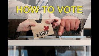 How to Vote as a Canadian Living Abroad