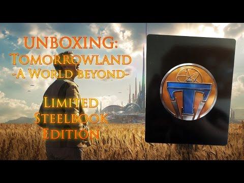 Unboxing - The World Beyond - Tomorrowland - Zavvi exklusiv Steelbook