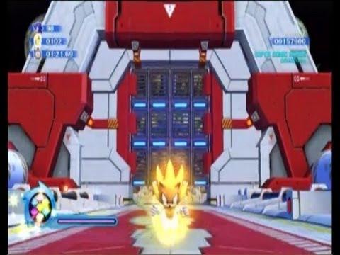 Sonic Colors Walkthrough - Game Land Part 4 - 8-bit is Epic