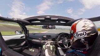 【VR動画】大迫力でドキドキ! VRでカーレースのドライバー体験をしてみよう!(MAZDA Fan Endurance)