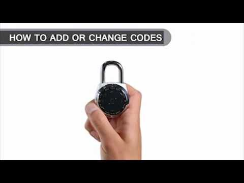 Screen capture of Master Lock 1500eXD dialSpeed™ - How to Edit Codes