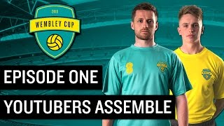 THE WEMBLEY CUP 2016 1  YOUTUBERS ASSEMBLE