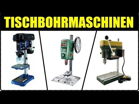 TOP 5 TISCHBOHRMASCHINEN TEST 2018 ★ Säulenbohrmaschine + Tisch Ständerbohrmaschine Bosch, Einhell..