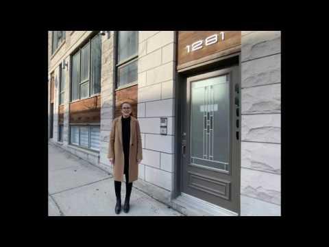 Visite virtuelle du 1281 St-Christophe # 100, Montréal