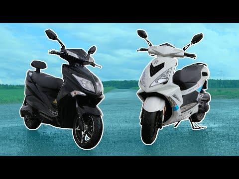 Elektroroller VS Benziner der Vergleich - Lohnt sich ein Elektroroller Hawk 3000?