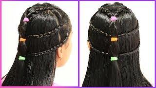Peinado Con Cabello Suelto Para Toda Ocasión    Loose Hairstyle For Any Occasion