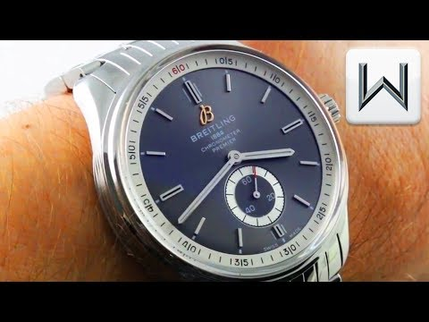 2018 Breitling Premier Automatic NO DATE Vintage Reissue (A37340351B1P1) Luxury Watch Review