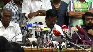 Tamilnadu Film Producers Council Press Meet