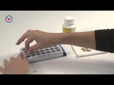 Tablettendose, Woche - Praktische Aufbewahrungshilfe