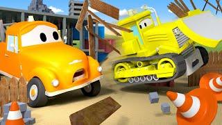 Odtahové auto pro děti - Buldozer Billy Odtahové auto Tom ve Městě Aut