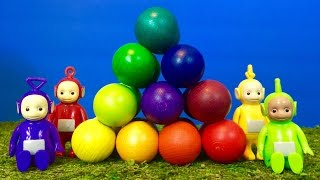 TELETUBBIES Toys Learning Colors Best Educational Compilation For Toddlers!